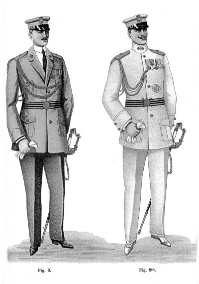 Regio esercito uniformi del regi corpi truppe coloniali - La tavola degli ufficiali ...